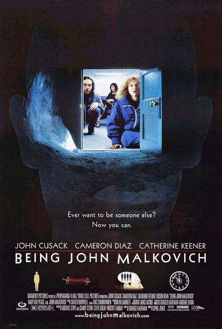 Exquisite Independent Film Posters series:  Being John Malkovich