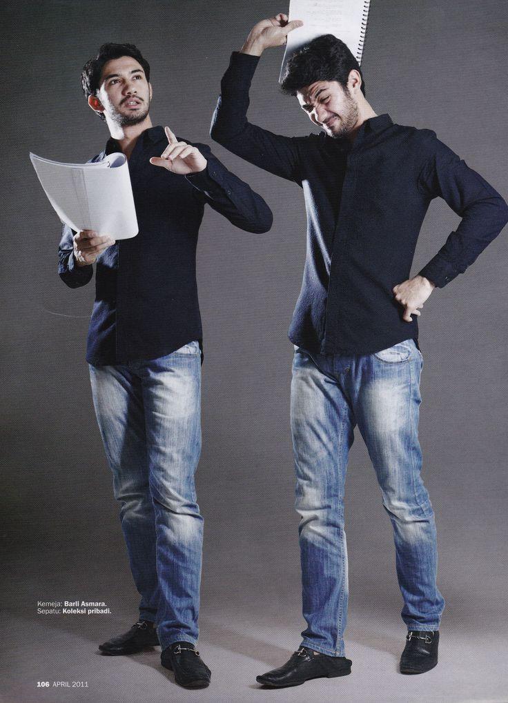 Reza Rahadian // Foto: Majalah MarieClaire