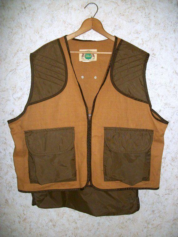 Hunting Pheasant Vest Medium Four Pocket