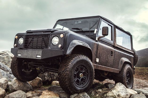 Chevy-powered Icon Land Rover Defender 90 goes its own way [w/video]