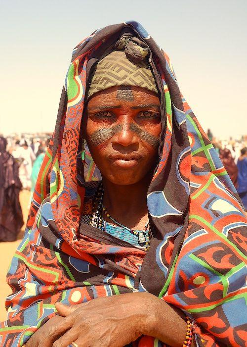 Peul Woman at Festival Tamadacht, Anderamboukane, Mali | © Chris Greenwood