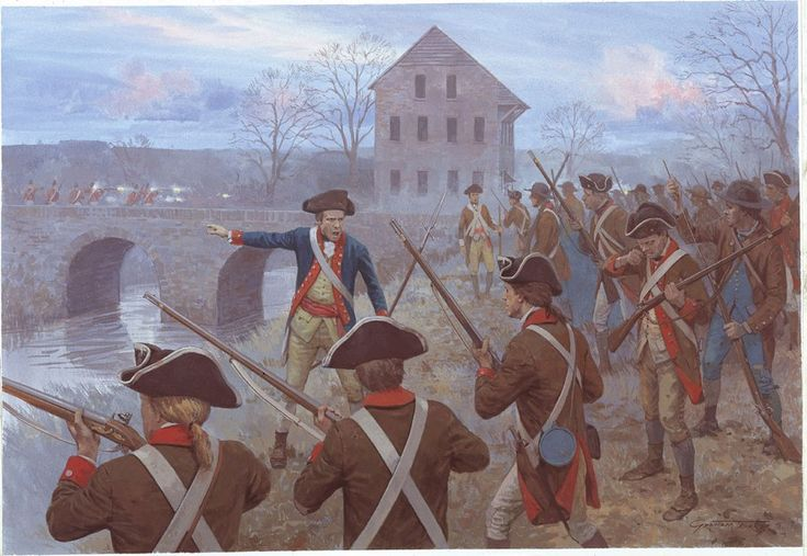Battle of Assunpink Creek from CAM 203: Trenton and Princeton 1776–77.
