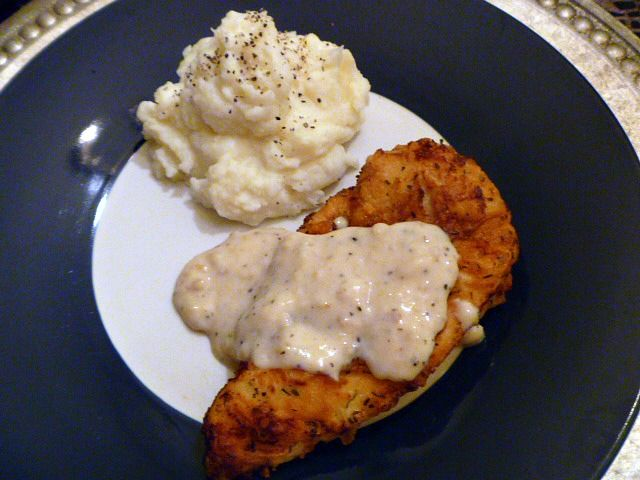 Pepper gravy, Fried chicken and Gravy on Pinterest
