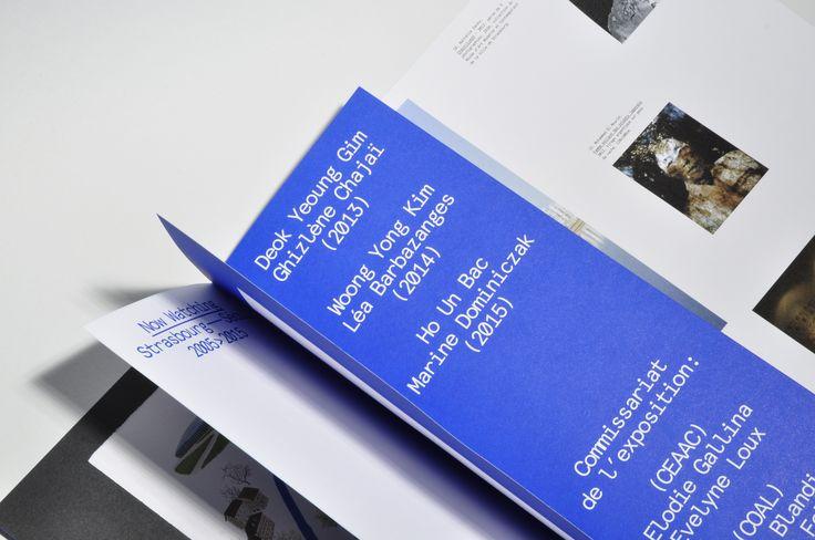 "livret programme ceaac - pages intérieures Exposition ""Now Watching"""