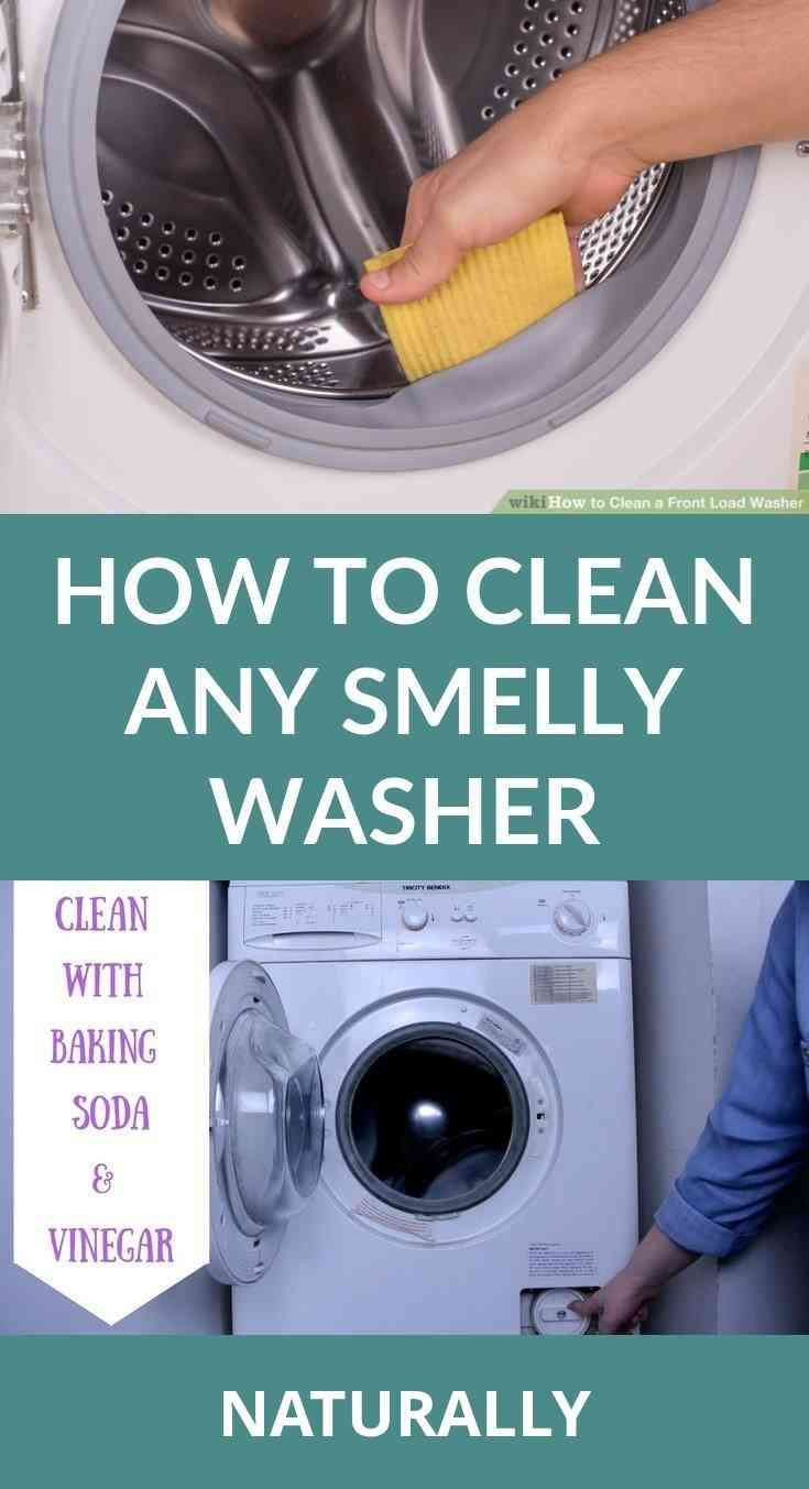 How To Clean A Washing Machine Naturally Washing Machine Cleaning