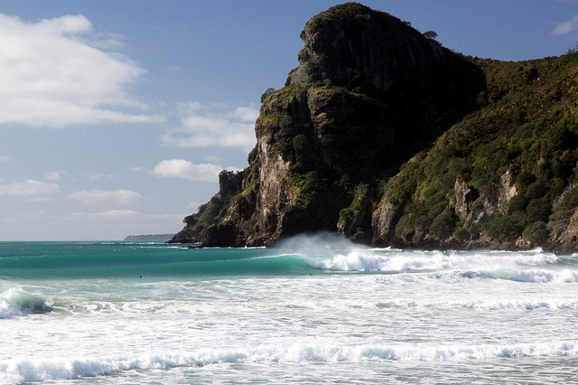 The point  Likely to be the most scenic beach in New Zealand as far as I'm concerned.  Whangaroa Bay  Northland