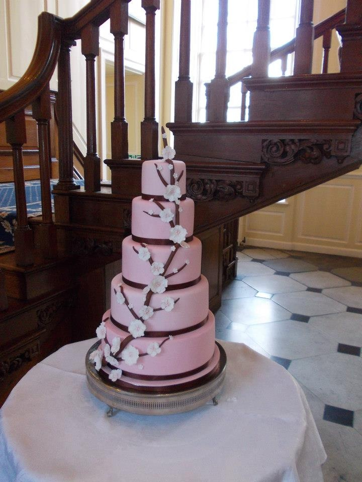 Gosfield Hall Wedding Venue- Cake :)