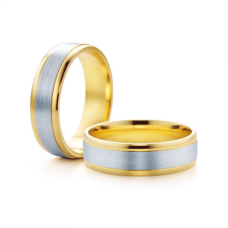 SAVICKI - Obrączki ślubne: Obrączki z dwukolorowego złota (Nr 136) - Biżuteria od 1976 r.