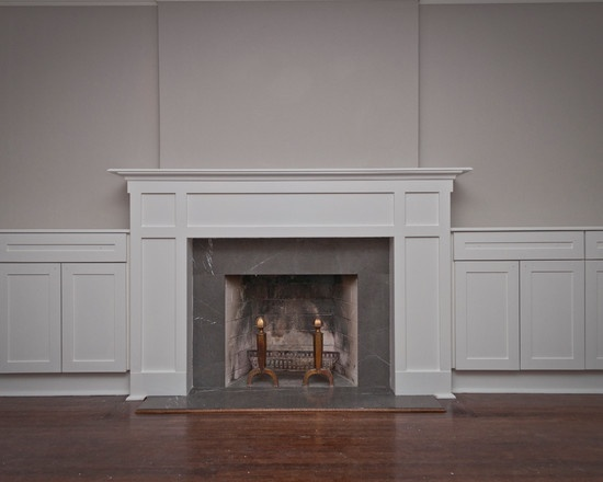 41 best fireplaces images on pinterest fire places for Craftsman fireplace pictures