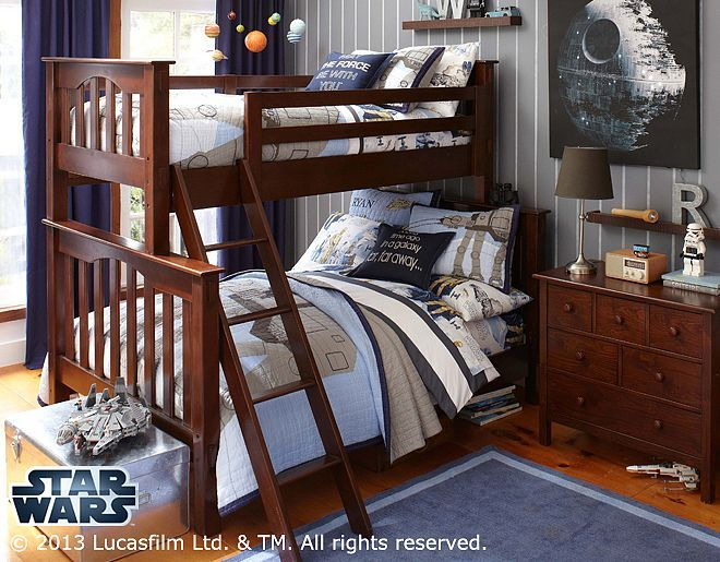I Love The Pottery Barn Kids Star Wars At At Bedroom On
