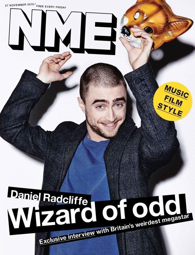 """He also spoke to the magazine about the future of the Harry Potter franchise, in particular his feelings on the upcoming West End play, Harry Potter and the Cursed Child. 