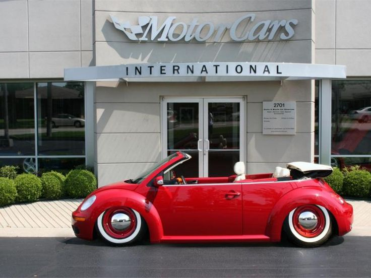 vw beetle convertible slammed - Google Search