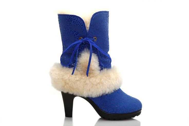 Ugg Heel Boots 5108 Blue