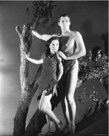 Tarzan and Jane  - Johnnie Weismuller