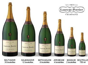champagne jeroboam   Nous tenons en stock jusqu'au Balthazar 12L de Laurent-Perrier dans ...