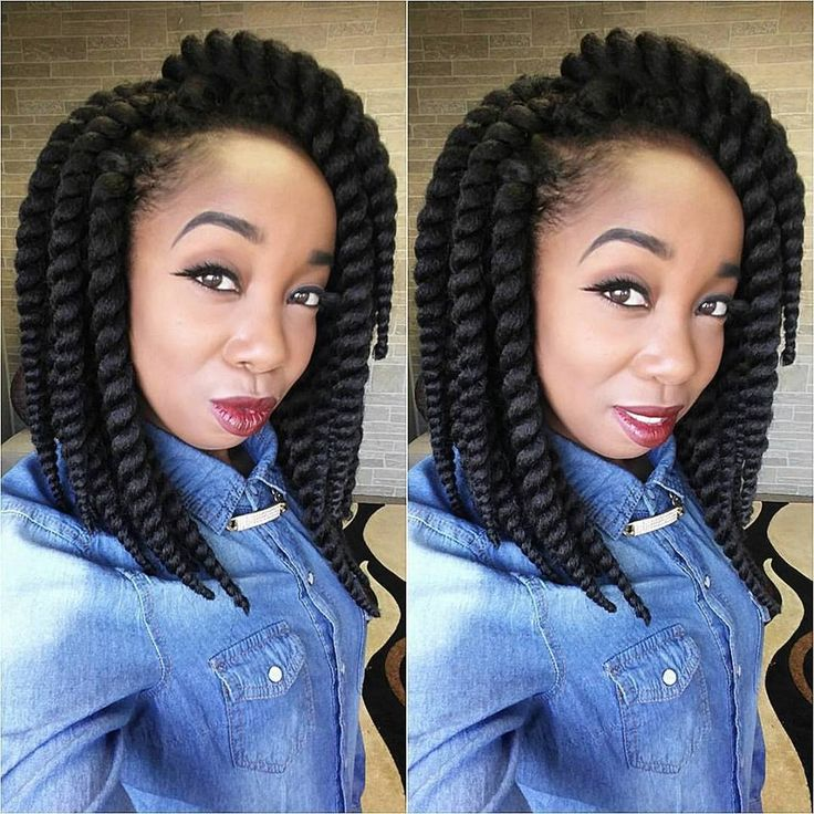 Mambo Twist Crochet Hair Styles : 12 Havana Mambo Twist Crochet Hair. Crochet Braids Crochet Twist ...