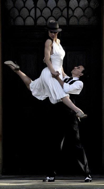 Argentine tango Couple dancing