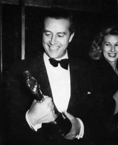 Ray Milland won the Academy Award for Best Actor for the film The Lost Weekend in 1945.