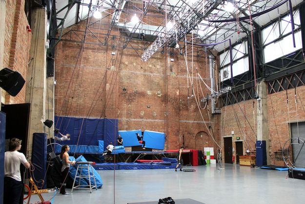 This is the National Centre for Circus Arts, in East London. | There Is A Secret Circus School In London And It's Amazing