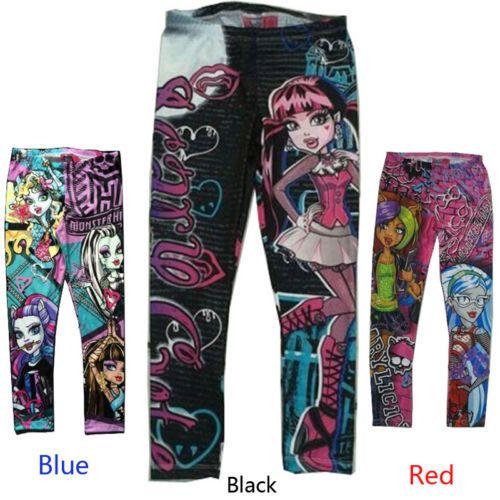 Calzas Monster High Tallas: 3-4; 4-5; 5-6 $8.990