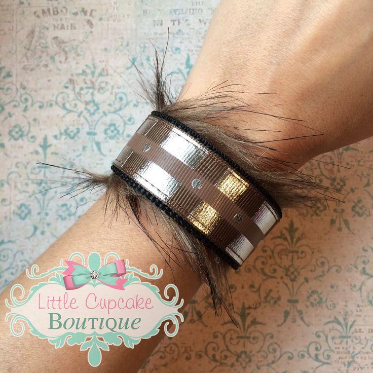 Chewbacca Inspired {EXCLUSIVE DESIGN} Double-Sided Velcro Wristband~ Star Wars Wookie Belt w/ Faux Fur by LittleCupcakeGirls on Etsy https://www.etsy.com/listing/252790371/chewbacca-inspired-exclusive-design