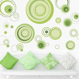 Sticker decorativ Live Green