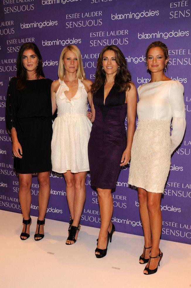 Elizabeth Hurley and Gwyneth Paltrow in High Heels | Celebrity Legs in High Heels