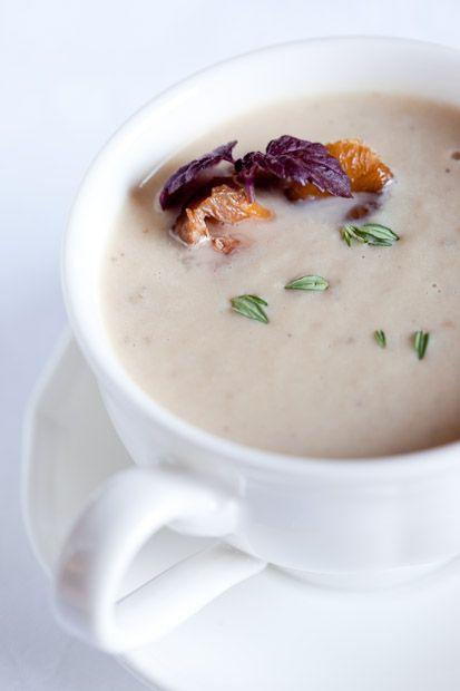 Celeriac Soup with Mushrooms (paleo/primal)