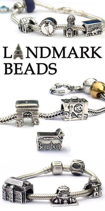 181 Best World Landmark Travel Beads Images On Pinterest