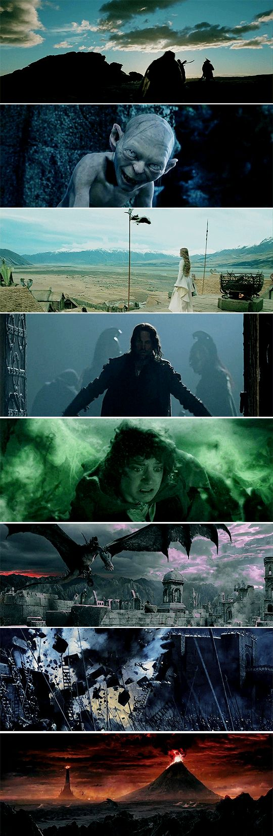 It's like in the great stories, Mr. Frodo. The ones that really mattered. Full of darkness and danger, they were. And sometimes you didn't want to know the end. Because how could the end be happy? How could the world go back to the way it was when so much bad had happened? But in the end, it's only a passing thing, this shadow. Even darkness must pass. A new day will come. And when the sun shines it will shine out the clearer. Those were the stories that stayed with you.    #lotr