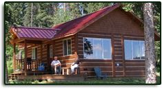 "Dee Lake """"Wilderness"""" Resort remote but a fun venue for the whole family to do a camping wedding"