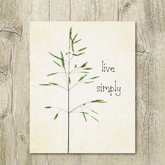 161 best images about printable wall art quote posters for Live simply wall art