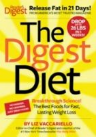 Food list for The Digest Diet by Liz Vaccariello (2012): Low processed foods; Low bad fat / high MUFA and PUFA; Lean protein and low-fat dairy; High produce, high fiber; Calorie control.