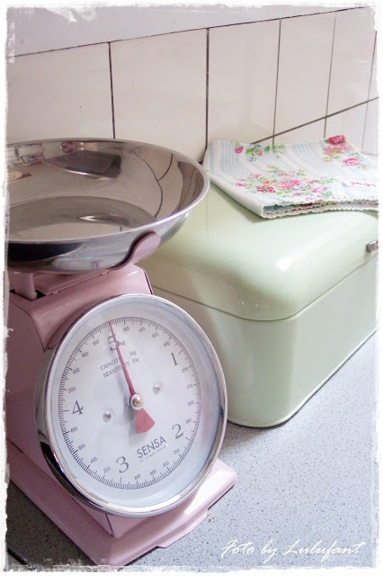 Sωєєт ςɑи∂γ ќɨтςɦєи ˚♡˚. Pastel KitchenPastel PaletteVintage  TableclothsBright ColoursKitchen AccessoriesAfternoon TeaVintage ...