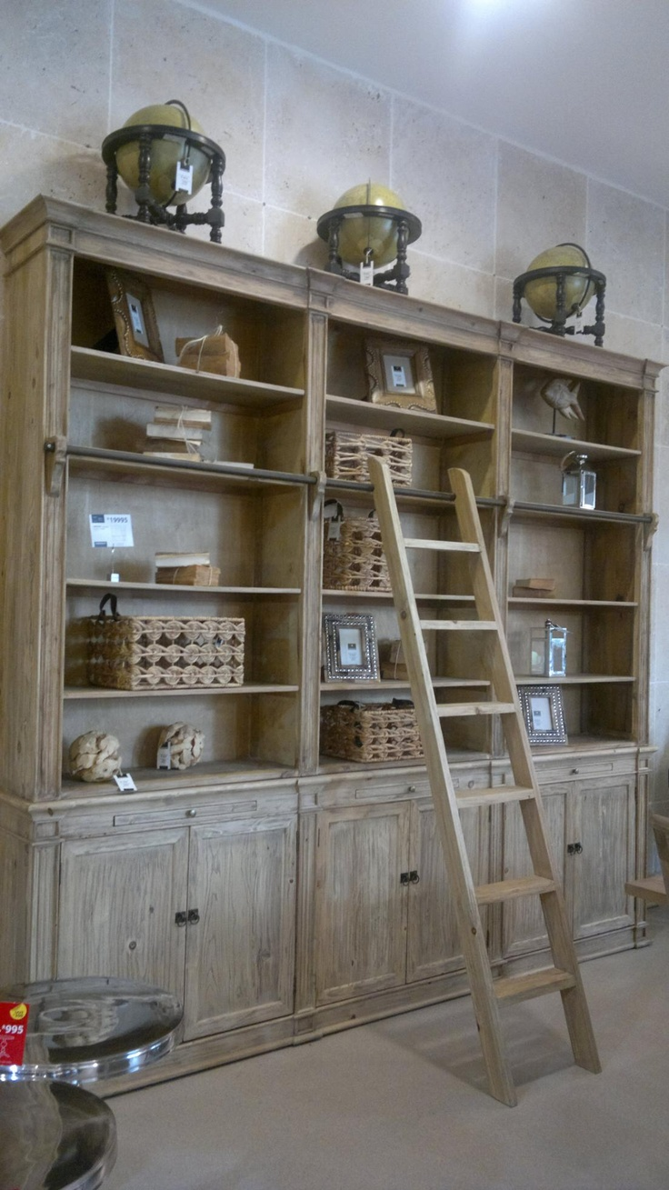 The world's best bookcase R20 000. Coricraft- just like like the one in La Clé des Montagnes