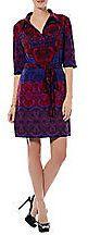 LAUNDRY BY SHELLI SEGAL Printed Shirt Dress