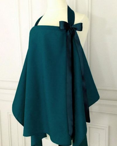 Babies in Arms Boutique Style Breastfeeding Nursing Cover in Deep Teal | eBay