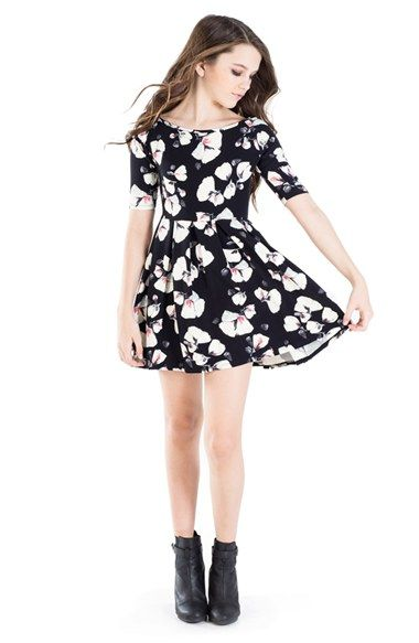 MISS BEHAVE 'LeilaniFlower' Dress (Big Girls) available at #Nordstrom