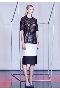 The Spade Lace Tee and Chaos Skirt from the SS14 collection by CAMILLA AND MARC.