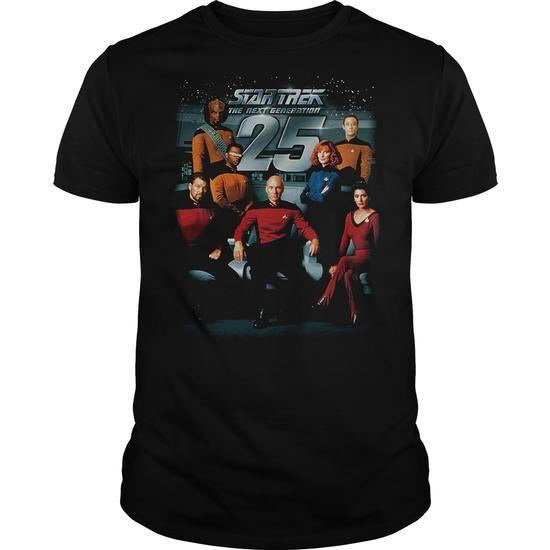Star Trek 25th Anniversary Crew - #simply southern tee #animal hoodie. WANT IT => https://www.sunfrog.com/TV-Shows/Star-Trek-25th-Anniversary-Crew.html?68278