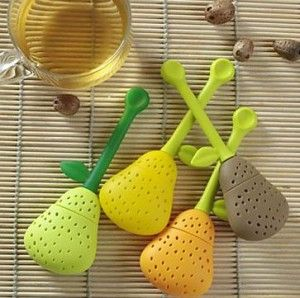 Pear tea infuser.  I would love to have a collection of tea infusers....wouldn't take up nearly as much room as a tea pot collection would...lol.