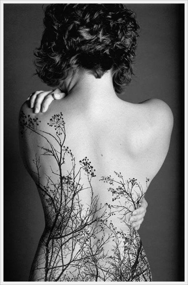 Lower back Tattoos For Girls: Autumn Lower Back Tattoos Design For Girls Pictures ~ lookmytattoo.com Women Tattoos Inspiration