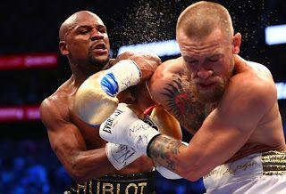 Blog Esportivo do Suíço:  Mayweather dá aula de boxe em dez rounds e nocauteia Conor McGregor