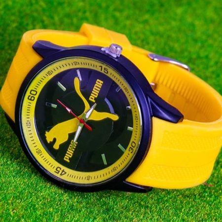 ساعت مچی سیلیکونی پوما در دو رنگ زرد و آبی عرضه میشود با قابلیت تنظیم بند ساعت میزان ضد آب بودن این ساعت در حد شستشوی دست میباشد از مزیت بند سیلیکون میتوان به سبک بودن و مقاوم بودن آن اشاره کرد این طرح یکی از جدیدترین ساعت مچی طرح پوما میباشد قیمت ساعت مچی […]