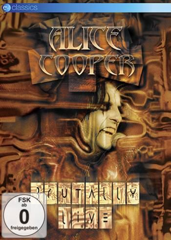 "DVD di #AliceCooper intitolato ""Brutally Live""."