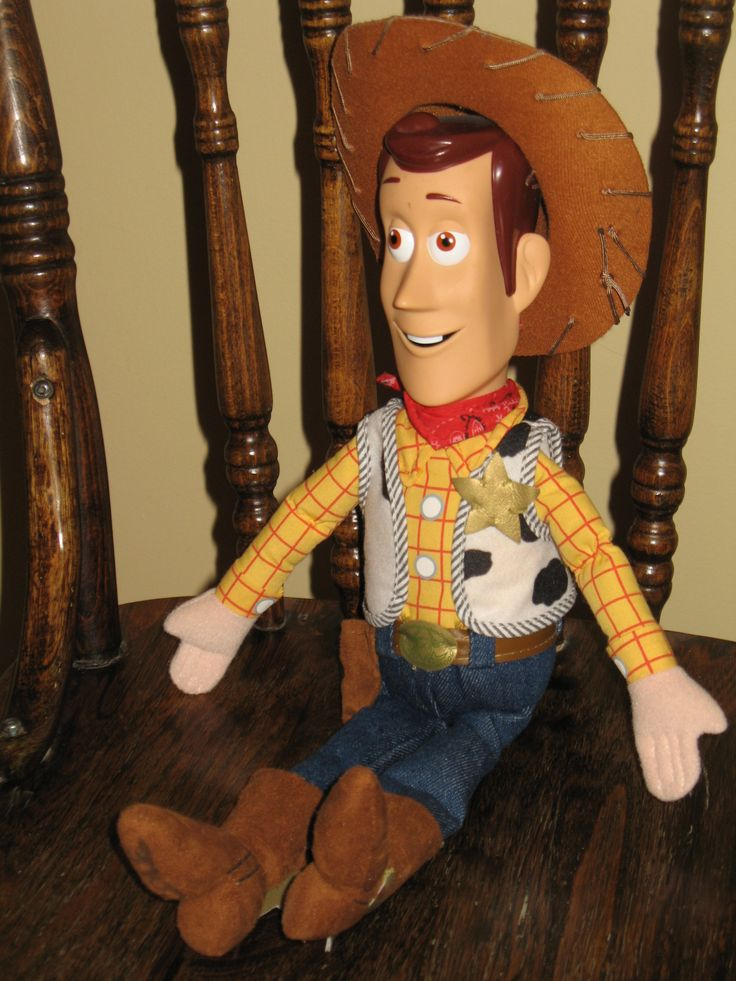 This Toy Story Woody the cowboy doll is a Disney Store Exclusive. #ck #toystory #woody #disney $29.95