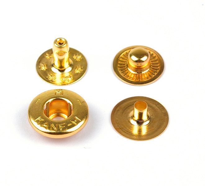 High quality 10mm(diameter) Spring Snap (rivet) and brass metal Studs, Anti-rust,Made in Japan,  making asscessories-LTCMLT- by VACHETA on Etsy #rivet #springsnap #snap