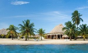 Groupon - 4- or 6-Night Stay with Welcome Drinks at Jaguar Reef Lodge and Spa in Belize in Belize. Groupon deal price: $499