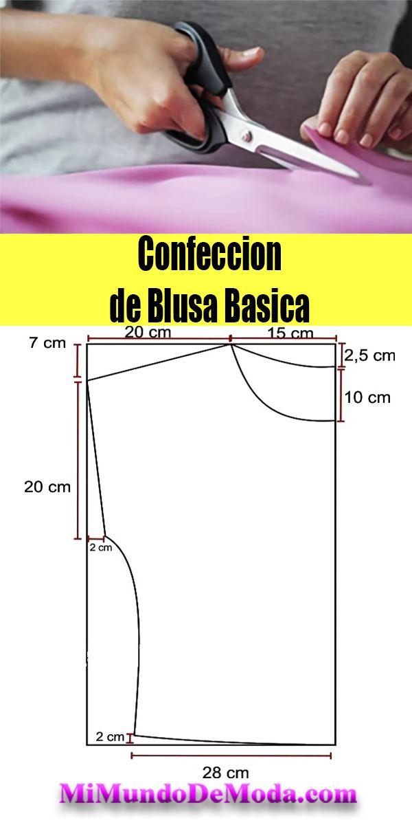 BLUSA BASICA PATRONES