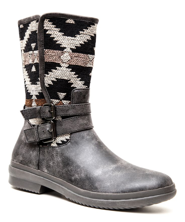 Black Native Boot